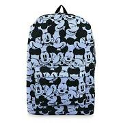 Disney Store Mickey Mouse Expressions Backpack 18 Parks Laptop Sleeve New 2021
