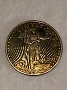 Very Rare 1933 20 Gold Coin Lady Liberty Double Eagle Copy Qr1533