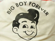 Boband039s Big Boy Forever Restaurant Vintage Used Painters Ball Cap Hat Red And White