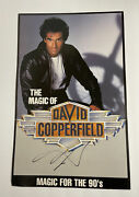 The Magic Of David Copperfield For The 90's Poster