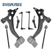 8pc Suspension Kit Control Arms Ball Joints Sway Bar Links Fit 10-12 Ford Taurus