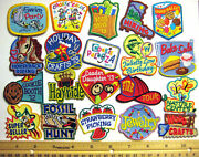 Girl Scout Guide Lot 20 Fun Patches All Different, Horse Swim Hike Crafts Swaps