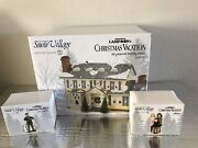 Nib Dept 56 Christmas Vacation Griswold Holiday House Fire It Up Dad And Alleluia
