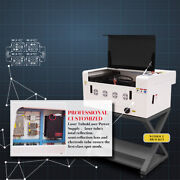 Ruida 40w Co2 Laser Engraving And Cutting Machine With Motorized Table 12and039and039x16and039and039
