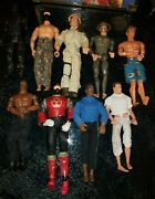 12 Inch Assorted 1/6 Scale Hasbro Gi Joe Lot Of 9 Action Figures Us Army Wwii