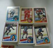 O-pee-chee Hockey Cards 1984-85 5000 Count Of Singles From Vendor Case