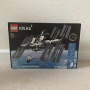 Lego 21321 Ideas International Space Station Building Kit Brand New Adult Toy
