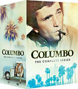 Columbo The Complete Series Seasons 1-7 All 69 Episodes + 24 Movies - 38 Dvd Set