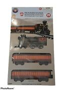 Lionel Pennsylvania Keystone Limited Battery Operated Train Set.includes 35 Pcs.