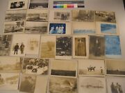 25 Real Photo Postcard Cdii Rppc Lot Post Cards Pc