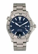 Omega Seamaster 2265.80.00 Electric Blue Mens Watch