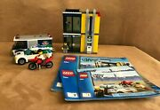 3661 Lego Complete Bank And Money Transfer Instructions Minifigures