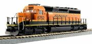 Kato 37-6614 Sd40-2 Mid Production Bnsf Swoosh Color 6752 Ho Scale
