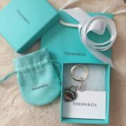 And Co. Heart please Return To And Co. Key Ring Silver 925 With Box