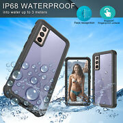 For Samsung Galaxy S21 S20 Note 20 Plus Ultra 5g Case Full-body Waterproof Cover