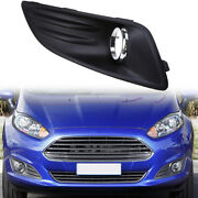 Bumper Front Grill Corner Fog Light Grill Trim Cover Fit For Ford Fiesta 2012-16