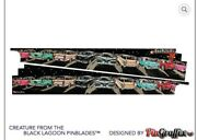 Pinball Machine Cabinet Decals Creature From The Black Lagoon