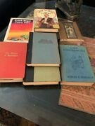 7 First Edition, Vintage, And Novel Exciting Hardcover Books