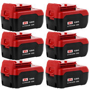 10x 18v 6.0ah For Porter Cable Pc18b Lithium-ion Battery Tool 6amp High Capacity