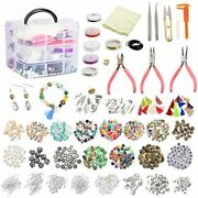 Jewelry Making Supplies 1526pcs Kit Beads And Charms Findings Beading Wire For