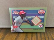 Joe Morgan 2002 Fleer Fall Classics October Legends Bat Card Reds Mlb