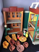 Fisher-price Vintage 938 Little People Play Family Sesame Street + Accessories