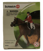 Schleich World Of Nature Show Jumping Riding Set 42056 Retired Rare