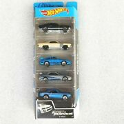 Set 5 Cars Fast And Furious Hot Wheel Original Premium Collectible Limited Edition