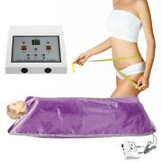 Far Infrared Thermal Body Slim Sauna Blanket Heating Therapy Spa Weight Loss