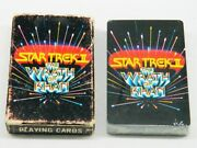 Star Trek Ii The Wrath Of Khan Photo Illustrated Playing Cards 1982 Sealed Mib