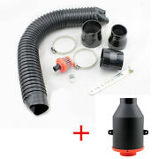 Cold Air Induction Kit High Flow Filters Car Clean Air Intake System Accessories