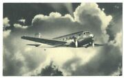 Transcontinental And Western Air Twa Dc-2 Ca1935 Airline Issue Postcard