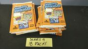 Eighteen 18 Packs - 2012 Wacky Packages All New Series 9 Unopened Lot