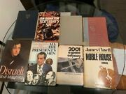 8 Exciting Vintage, First Edition Famed Hardcover Books Bundled As One