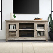 50 Farmhouse Wood Tv Console For Tvand039s Up To 55 Room Storage Ashland Pine