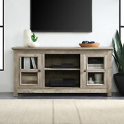 50 Farmhouse Wood Tv Console For Tv's Up To 55 Room Storage, Ashland Pine