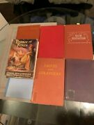 7 Vintage-first Edition Great Hardcover Books
