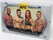 2018 Topps Ufc Museum Collection Hobby Box Blowout Cards