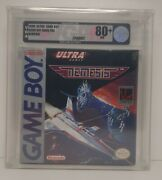 Nemesis Nintendo Game Boy Vga 80+ Nm H-seam Factory Sealed Brand New Ultra