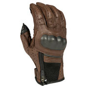 Klim Induction Glove Brown Ventilated Summer Touring Glove Fast Free Shipping