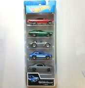 Set 5 Cars Hot Wheel Original Fast And Furious Collectible Limited Edition