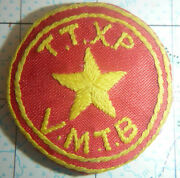 Patch - North Vietnam Army - Hand Made War Patch - Recon Sapper - Vc Nva - 1957