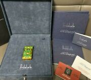 S.t.dupont Lighter Andalusia Gold Color Model 3000 Limited Edition Complete With