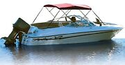 New 3 Bow Bimini Frame And Fabric Pre-assembled Attwood Marine 10343xnv Length 6