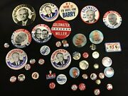 Barry Goldwater Presidential Campaign Political Pinback Button Lot Of 44pc Jh920