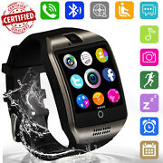 Unlocked Smart Watch Bluetooth Call Gsm Sim For Atandt T-mobile Verizon Cell Phone