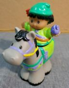 Fisher Price Little People Robin Hood Castle Woodsman And Horse Kingdom Lot