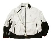 Polo Big And Tall Menand039s White Polo Sport Windbreaker Jacket
