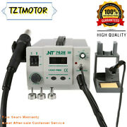 Nt-762e 2 In 1 Bga Lead-free Adjustable Hot Air Rework Station Soldering Iron