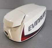 285824 0285824 Evinrude Johnson 2019 Etec Engine Cover Cowling Hood 25 30 Hp